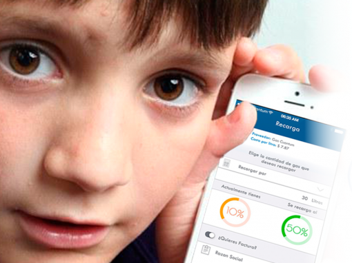 Because even your child can check the gas consumption on your cell phone